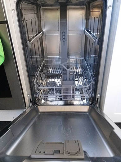 resetear lavavajillas